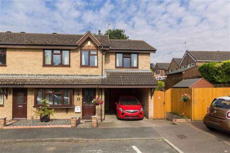 4 Bedrooms Semi Detached House for sale in Angus Drive, Loughborough, LE11