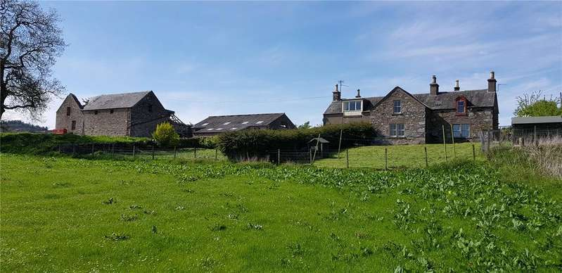 3 Bedrooms Semi Detached House for sale in Dunmore Farm, Dungarthill Estate, By Dunkeld, Perthshire