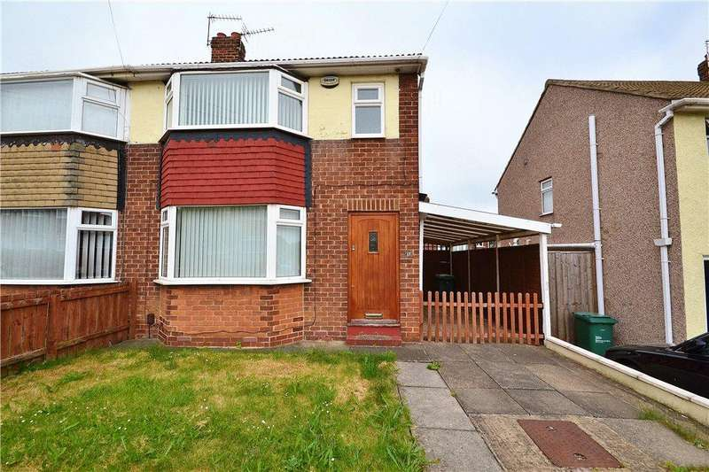 3 Bedrooms Semi Detached House for sale in Milburn Crescent, Norton, Stockton On Tees