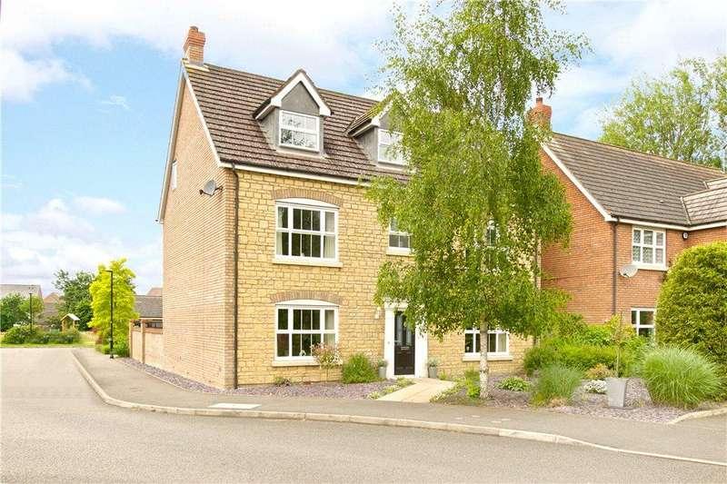 6 Bedrooms Detached House for sale in Harewelle Way, Harrold, Bedfordshire