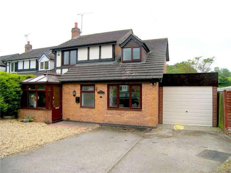 4 Bedrooms Detached House for sale in Shetland Road, Tibshelf