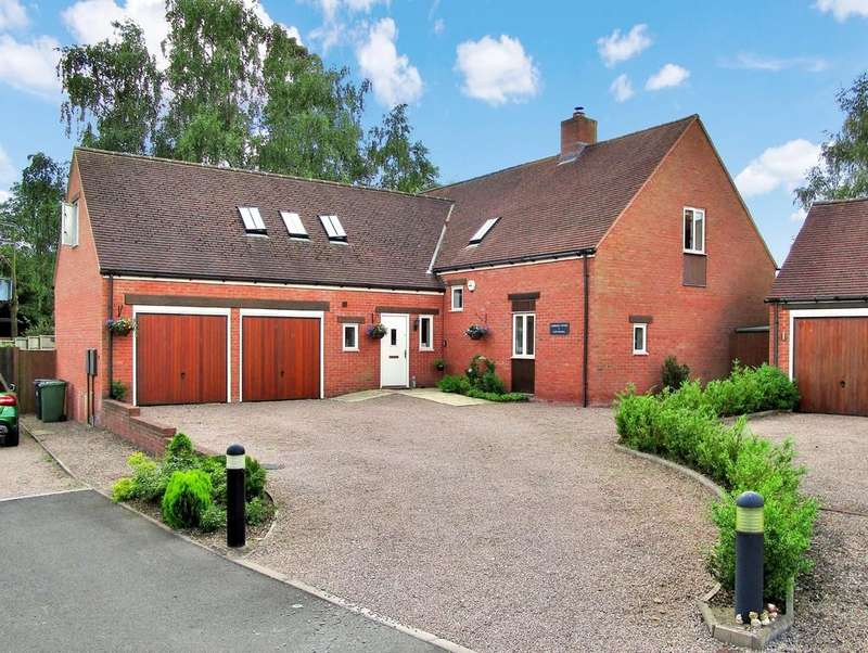 4 Bedrooms Detached House for sale in Earls Meadow, Warwick, Warwickshire