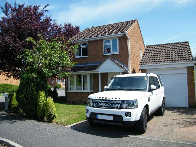 3 Bedrooms Detached House for sale in Cheviot Close, Gonerby Hill Foot, Grantham