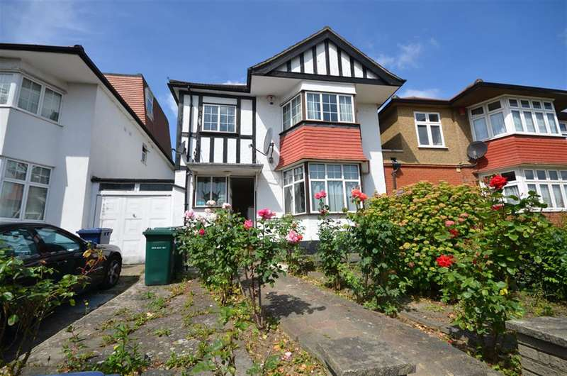 3 Bedrooms Detached House for sale in Crespigny Road, Hendon, London, NW4 3DT
