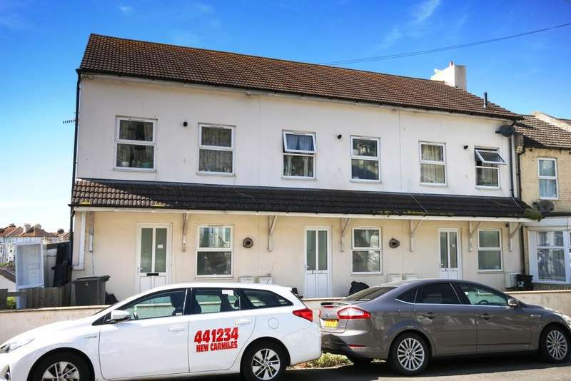 Block Of Apartments Flat for sale in Rose Court, St. Georges Road, Hastings, TN34