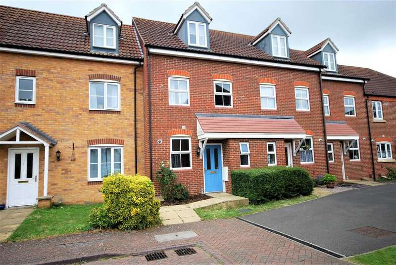 3 Bedrooms Terraced House for sale in Thistle Gardens, Spalding