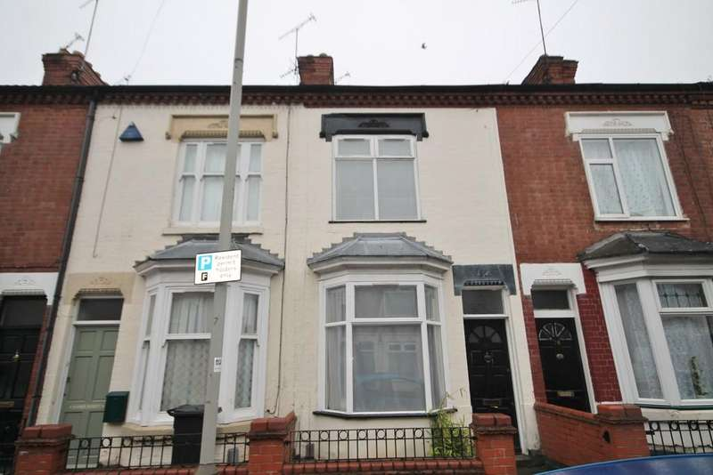 2 Bedrooms Terraced House for sale in Cranmer Street, West End, Leicester LE3