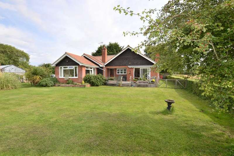 3 Bedrooms Detached Bungalow for sale in Neaves Lane, Stradbroke, Suffolk