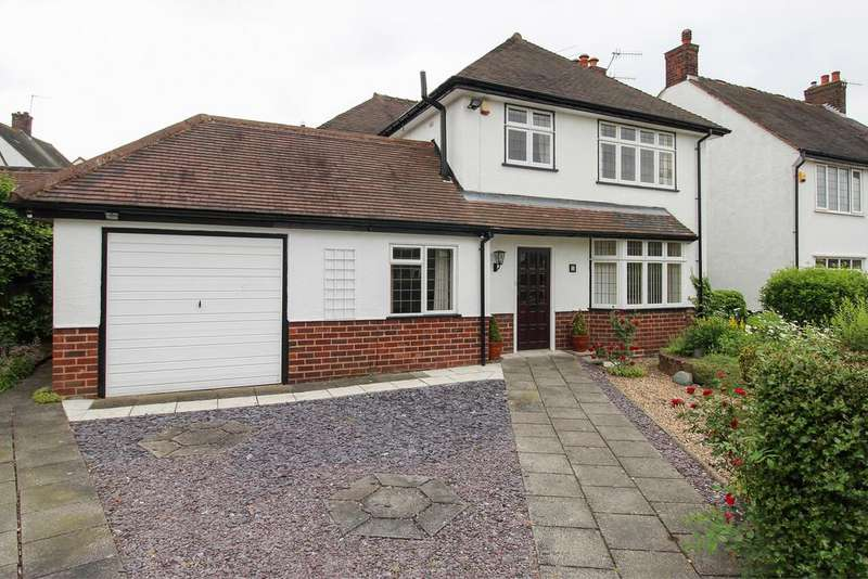3 Bedrooms Detached House for sale in Lansdowne Avenue, Newbold, Chesterfield