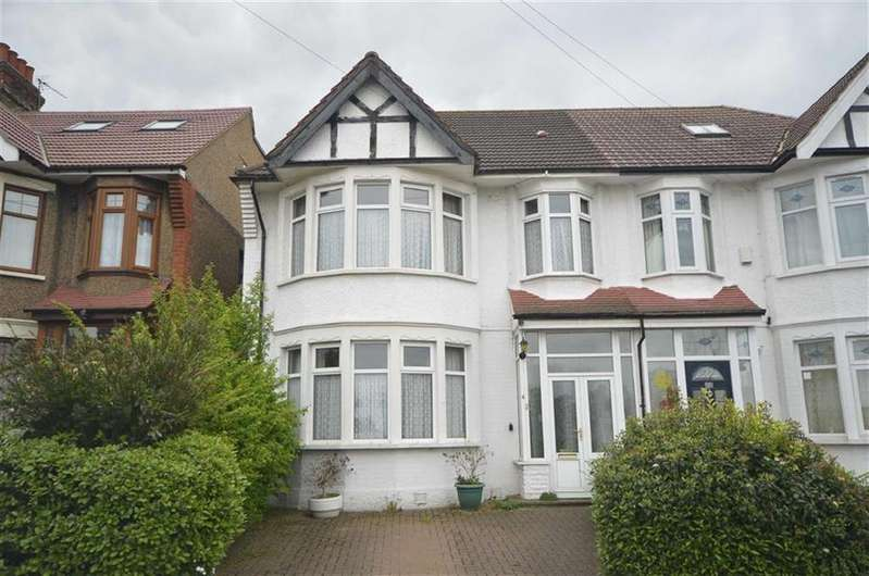 4 Bedrooms Semi Detached House for sale in Norfolk Avenue, Palmers Green, London
