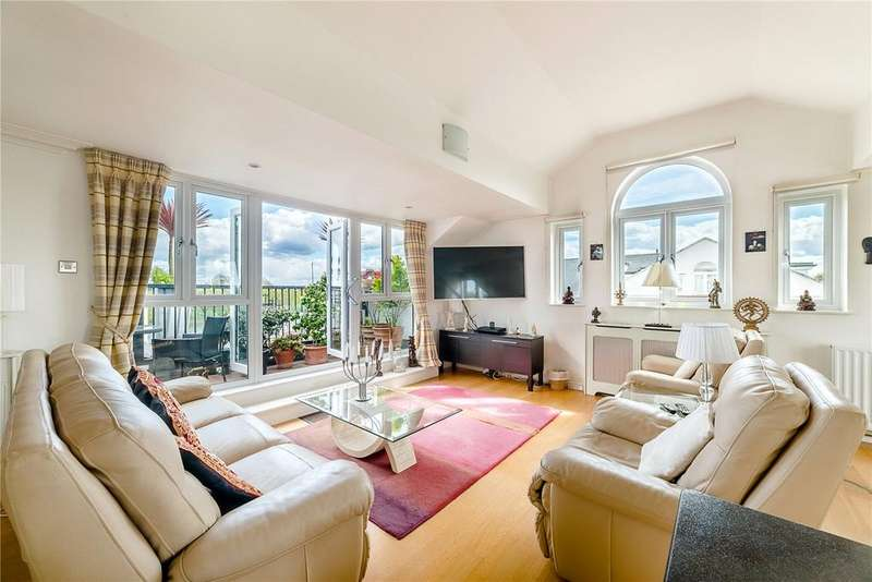 3 Bedrooms Penthouse Flat for sale in Nicholas Court, Corney Reach Way, Chiswick, London, W4