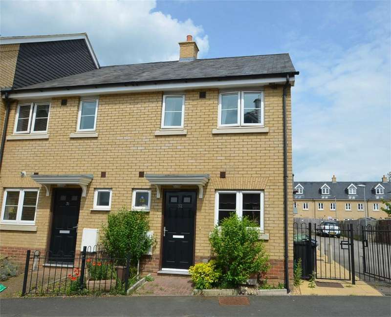 2 Bedrooms End Of Terrace House for sale in River View, SHEFFORD, Bedfordshire