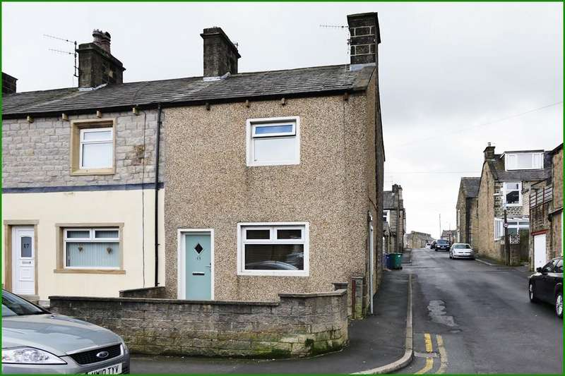 2 Bedrooms End Of Terrace House for sale in 15 Wellhouse Road, Barnoldswick BB18 6DB