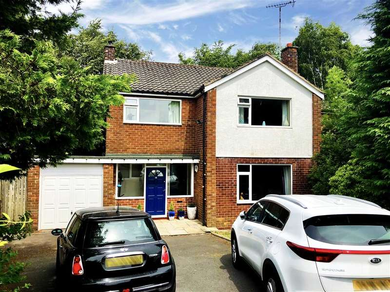 5 Bedrooms Detached House for sale in Marlborough Close, Tytherington, Macclesfield
