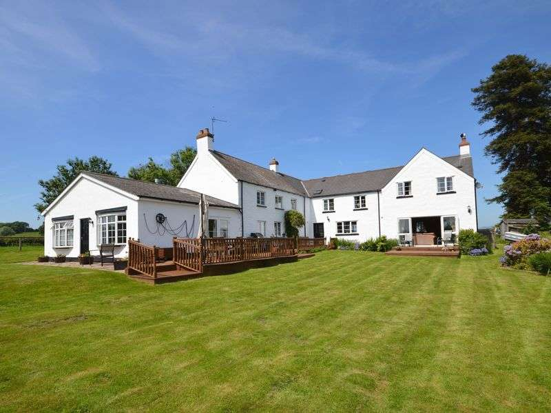 5 Bedrooms Property for sale in Llanvair Kilgeddin, Abergavenny