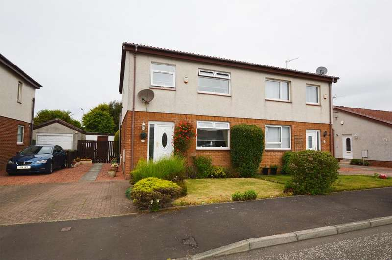 3 Bedrooms Semi Detached House for sale in 47 Caledonia Crescent, ARDROSSAN, KA22 8LW