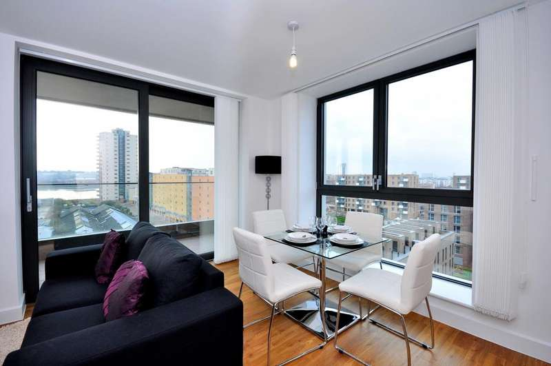 1 Bedroom Apartment Flat for sale in Waterside Park, Connaught Heights, Royal Docks E16