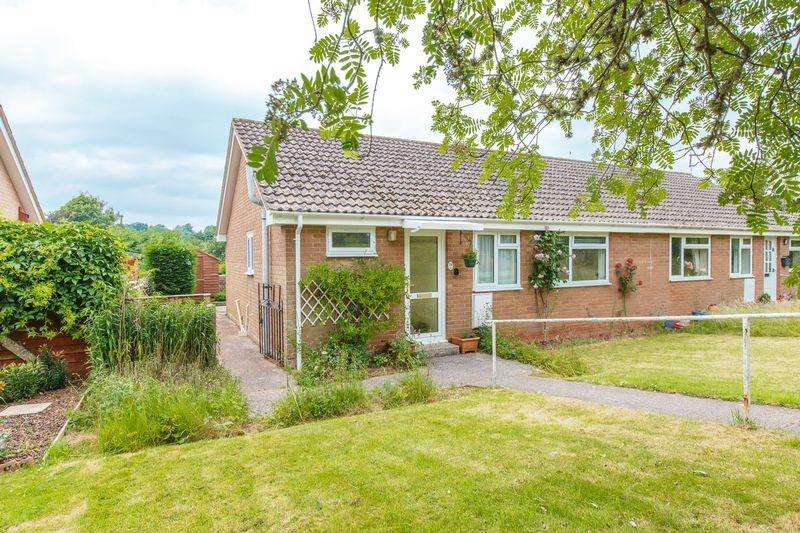 3 Bedrooms Semi Detached Bungalow for sale in Butts Way, North Tawton