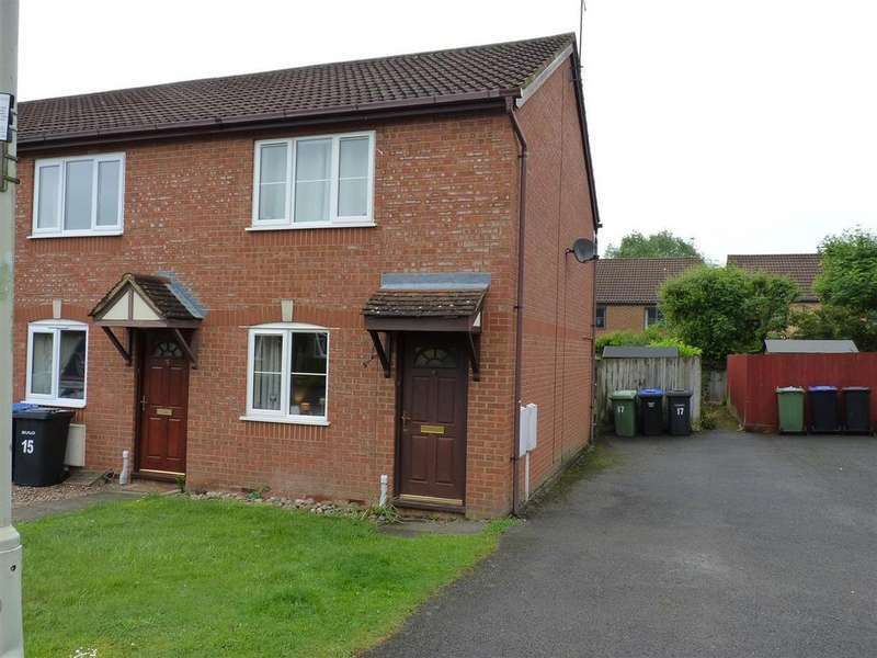 2 Bedrooms Town House for sale in Overdale Close, Market Harborough