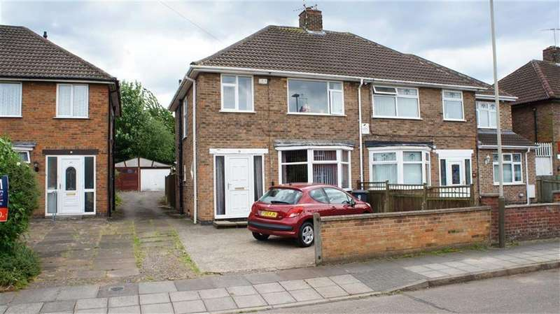 3 Bedrooms Semi Detached House for sale in Padstow Road, Leicester