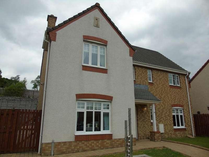 4 Bedrooms Detached House for sale in Rockbank Crescent, Glenboig, Coatbridge, ML5