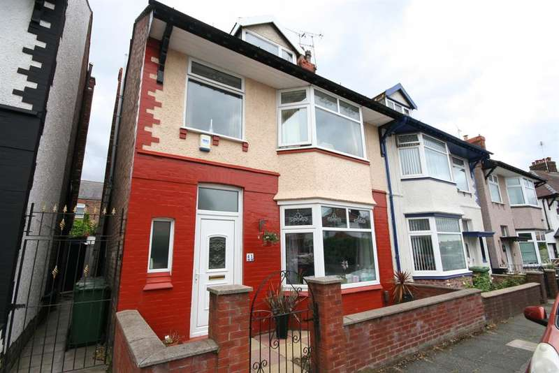 4 Bedrooms Semi Detached House for sale in Malpas Road, Wallasey, CH45 4QH