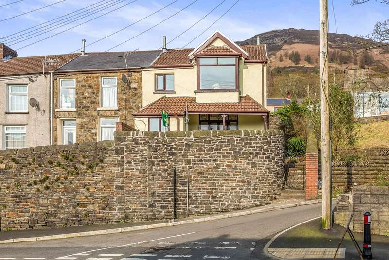 3 Bedrooms End Of Terrace House for sale in High Street, Treorchy
