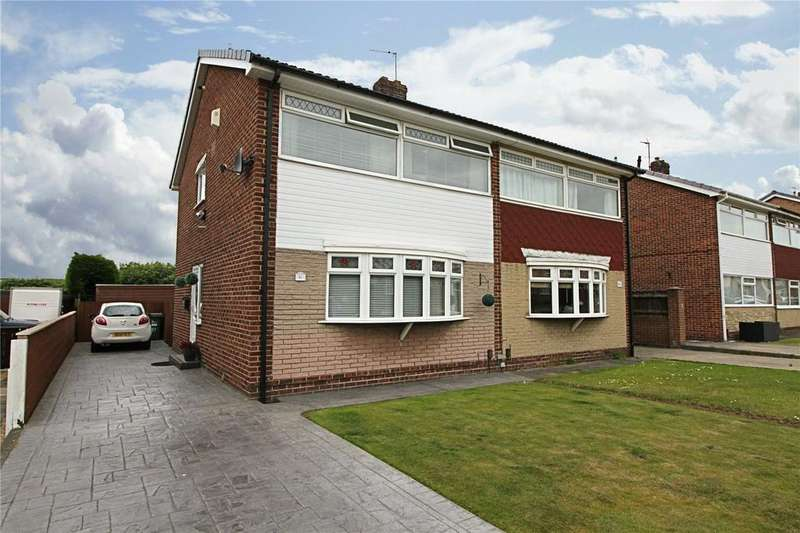 3 Bedrooms Semi Detached House for sale in Ashton Road, The Glebe