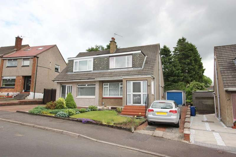 3 Bedrooms Semi Detached House for sale in 44 Greenside Road, Hardgate, G81 6NY