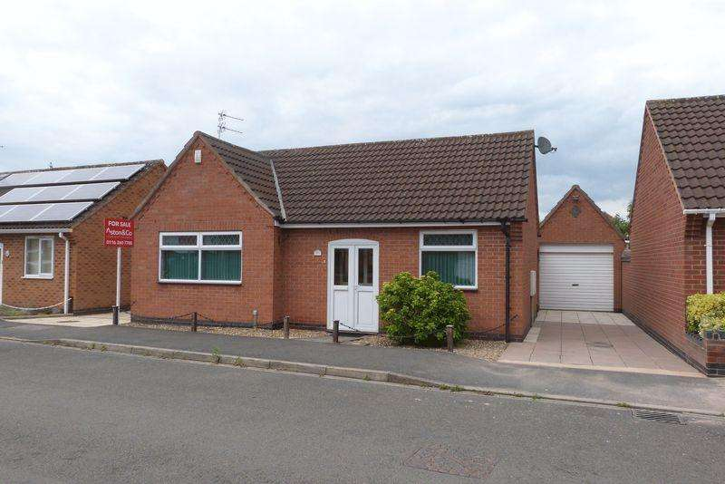 2 Bedrooms Detached Bungalow for sale in Field View, Thurmaston