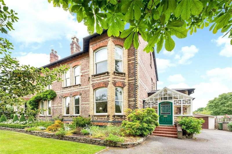 6 Bedrooms Semi Detached House for sale in Hawthorn Lane, Wilmslow, Cheshire, SK9