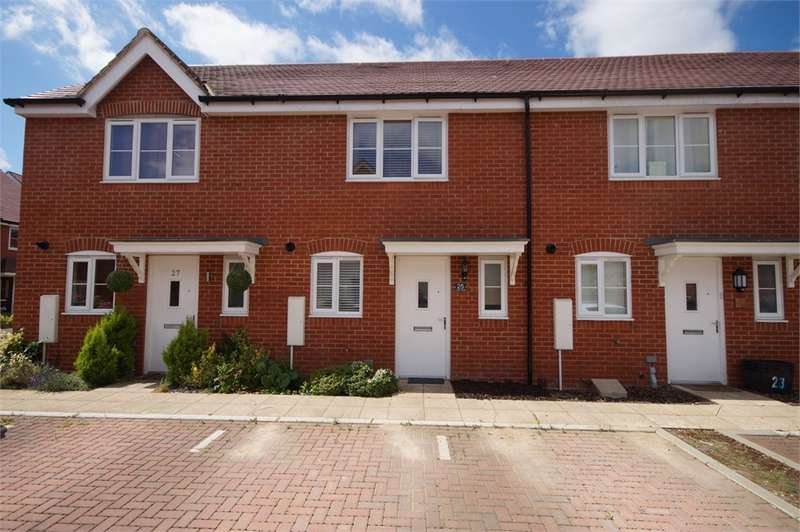 2 Bedrooms Terraced House for sale in Fawn Drive, Three Mile Cross, Reading, Berkshire