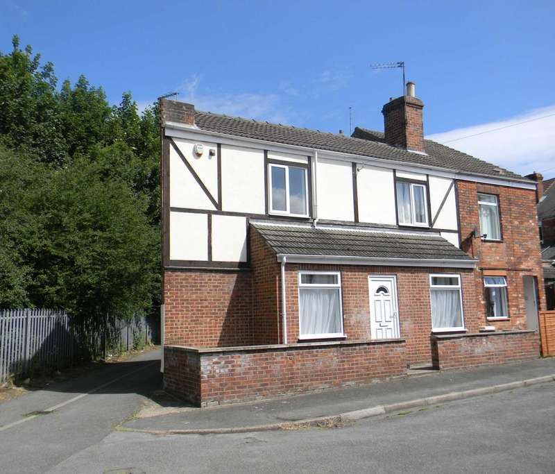2 Bedrooms Semi Detached House for sale in Ruskin Street, Gainsborough