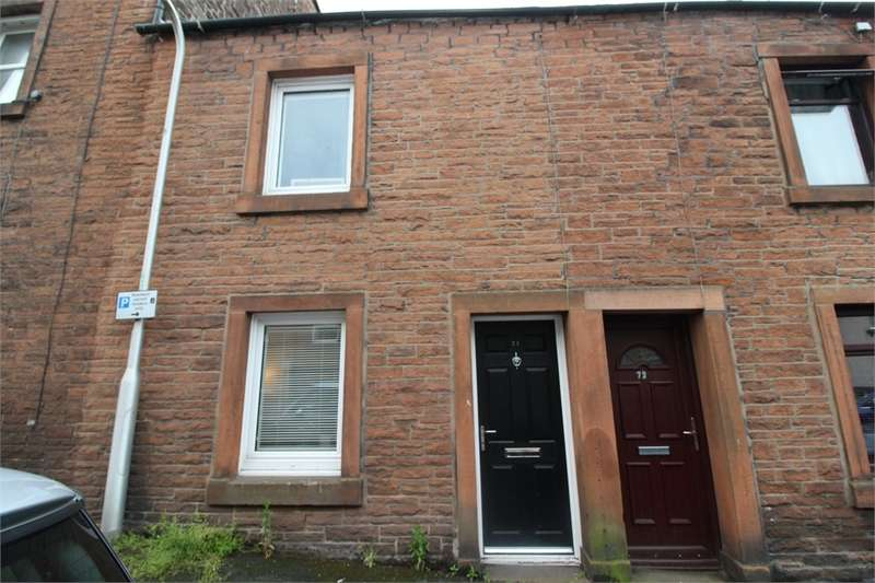 2 Bedrooms Terraced House for sale in CA11 9DW Brougham Street, Penrith, Cumbria