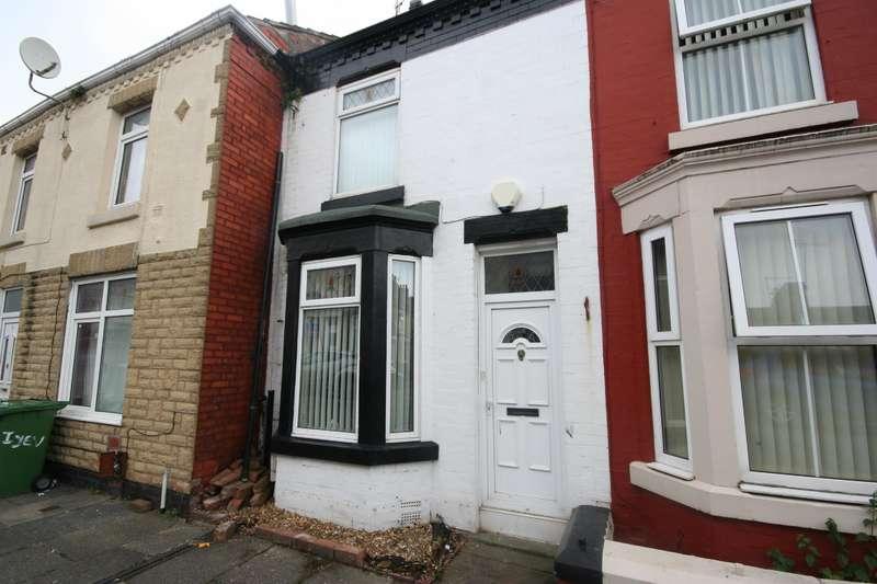 2 Bedrooms Terraced House for sale in Yelverton Road, Birkenhead, CH42 6PE