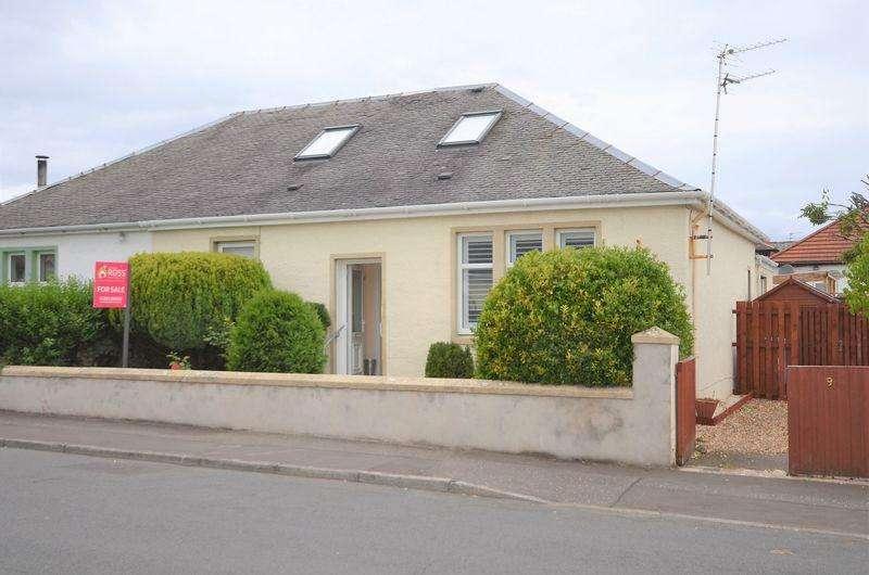 2 Bedrooms Semi Detached Bungalow for sale in 9 Alvord Avenue, Prestwick KA9 2JU