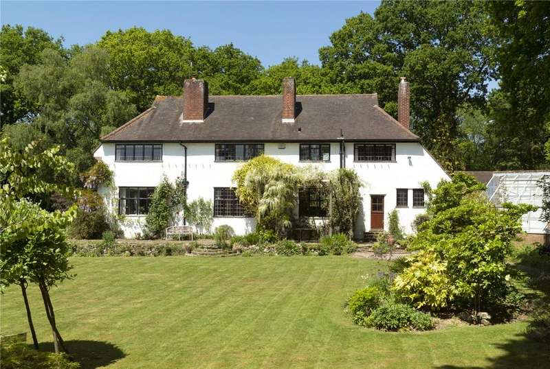5 Bedrooms Detached House for sale in Underriver House Road, Underriver, Sevenoaks, Kent, TN15