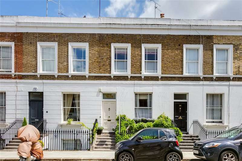 4 Bedrooms Terraced House for sale in Overstone Road, Hammersmith, London