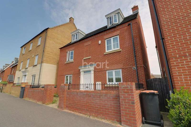 4 Bedrooms Detached House for sale in Woodlands Park, Brickhill
