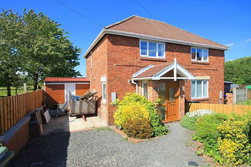 2 Bedrooms Semi Detached House for sale in Hawthorn Cottages, South Hetton, Durham