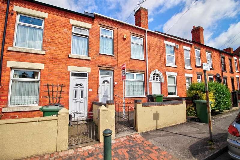 3 Bedrooms Terraced House for sale in Godfrey Street, Heanor