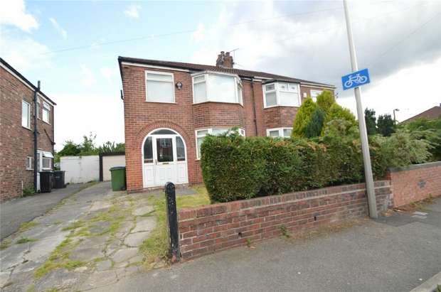 3 Bedrooms Semi Detached House for sale in Sterndale Road, Davenport, Stockport, Cheshire