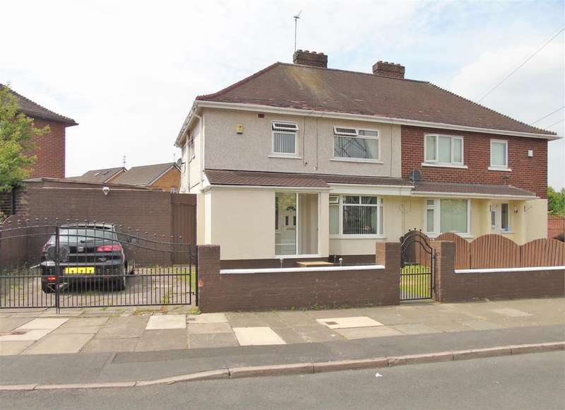 4 Bedrooms Semi Detached House for sale in Orchard Hey, Old Roan, Merseyside