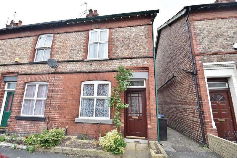 2 Bedrooms End Of Terrace House for sale in Eaton Road, Sale