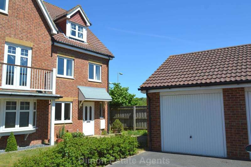 3 Bedrooms End Of Terrace House for sale in Proctor Drive, Lee On The Solent