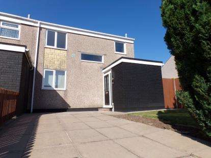 3 Bedrooms End Of Terrace House for sale in Sullington Drive, Netherley, Liverpool, Merseyside, L27