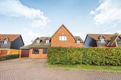 5 Bedrooms Detached House for sale in Whiteman Close, Langford, Biggleswade, Bedfordshire