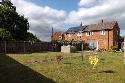 2 Bedrooms Semi Detached House for sale in Greenfield Way, Dunton, Biggleswade, Bedfordshire