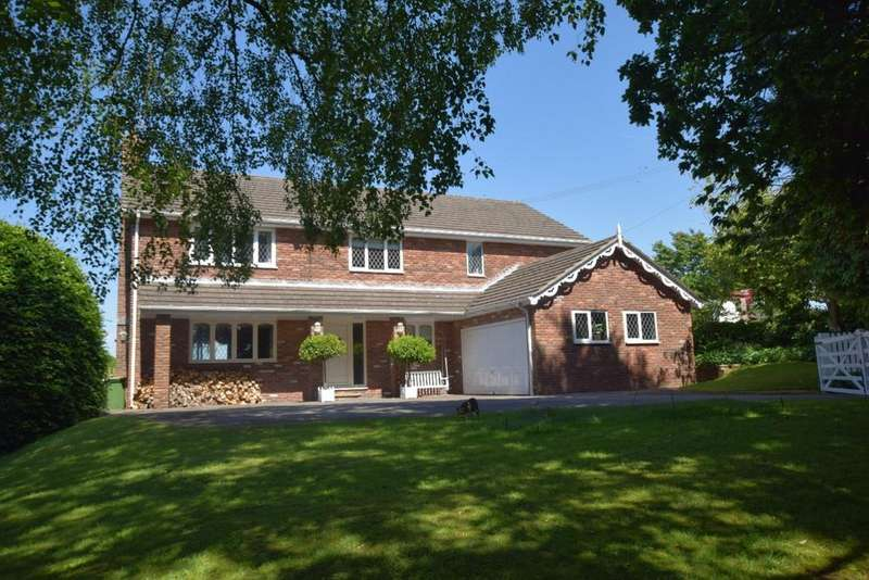 5 Bedrooms Detached House for sale in Corks Lane, Disley, Cheshire