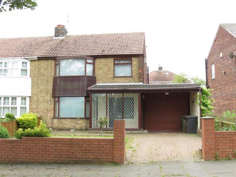 3 Bedrooms Semi Detached House for sale in King Oswy Drive, Hartlepool, Cleveland, TS24 9SA